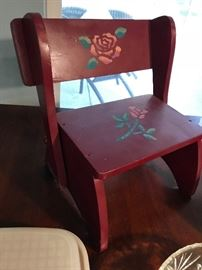 Stepstool / Chair for Child