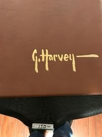 Super Rare G. Harvey book