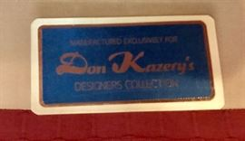 Living and dining room furniture, rugs and decor items purchased from Don Kazery's in Jackson.