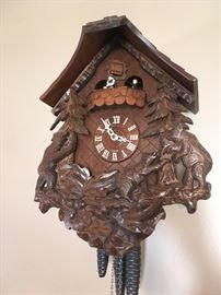 Black Forest-style cuckoo clock