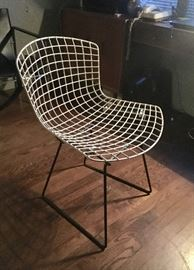 Mid-century wire chair