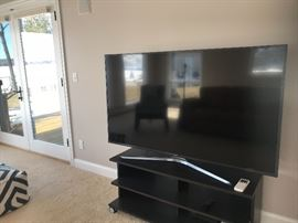 LARGE SAMSUNG FLATSCREEN TV, PURCHASED JUST OVER A YEAR AGO!