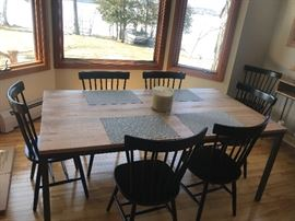 WEST ELM FURNITURE, BOX FRAME TABLE.  PURCHASED RECENTLY!