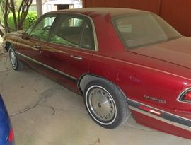 1995 Buick LeSabre with 61K actual miles.  V-6 automatic, fully loaded.