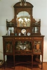 Stunning ANTIQUE FURNITURE PIECES fill every room in this Estate !!!
