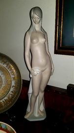 Large Bisque NUDE Lladro
