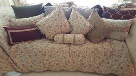 King Bedding & Matching Designer Drapery