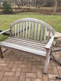 Smith & Hawken garden bench