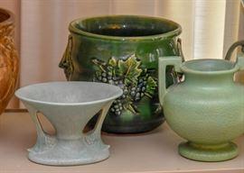 Vintage Art Pottery (including McCoy, USA, Roseville, Abingdon, & More)