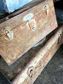 Some Old Tool Boxes...