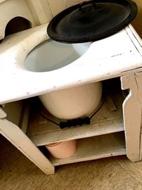 Yep...A Chamber Pot!...I'll Leave It Right Here...
