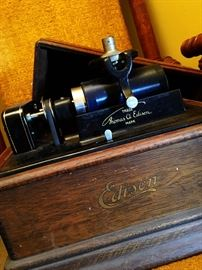 Antique Edison Cylinder Phonograph...