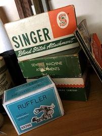 Some Older Singer Machine Parts...
