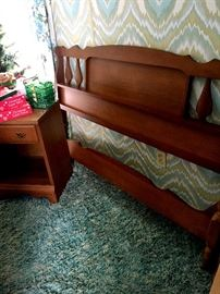 AND...A Matching Full Size Bed and Nightstand!...