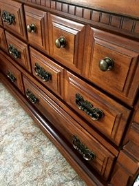 Let's Go Downstairs!...Main Level...Main Bedroom!...Really Pretty Dresser w/Matching Hutch...