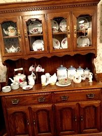and A Matching Full China Hutch...