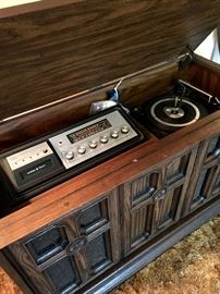 Yep...A Stereo Console!...The Radio Works and Sounds Great!...I Think The Turntable Needs A Belt...