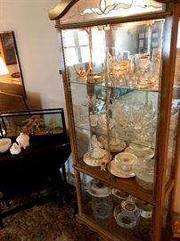 .We Have Several Curio Cabinets...