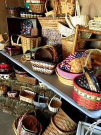 Baskets...