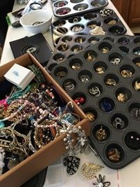 WAIT...YES...We Have Tons Of Costume Jewelry At This Sale...
