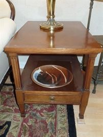 Pr. of matching side tables