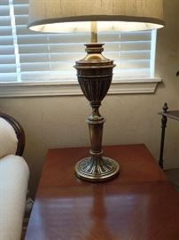 Pr. of matching  Stiffel brass lamps