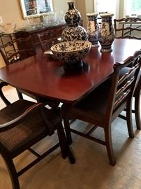Now...Let's Feature the Furniture...PLEASE NOTE...THE FAMILY HAS PULLED THE DINING ROOM SET FROM THE SALE.  We're sorry for the confusion.