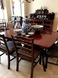 PLEASE NOTE...THE FAMILY HAS PULLED THE DINING ROOM SET FROM THE SALE.  We're sorry for the confusion.