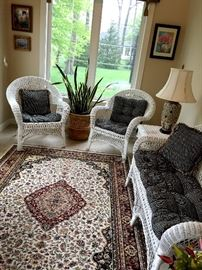 Anywhere!...Great Settee and two Chairs...Cute As A Button!...