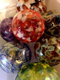 Oh We have Plenty of Blown Art Glass Balls...