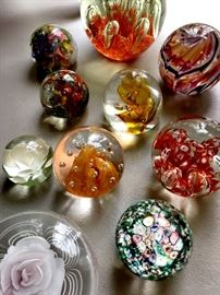 Paperweights...