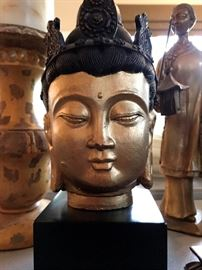 Tibetan Buddhist Meditating Buddha Head...I'm Feeling Calmer Already...