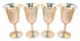 Wallace Sterling Goblets