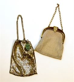 Whiting and Davis Vintage Purses