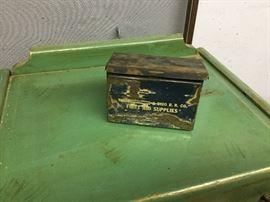 Railroad first aid box