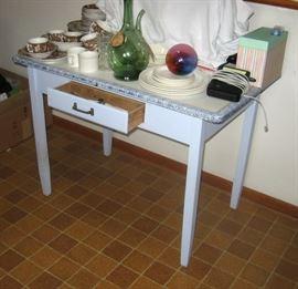 Porcelain top table