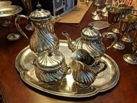 Silver 80% Coffee/Tea Set