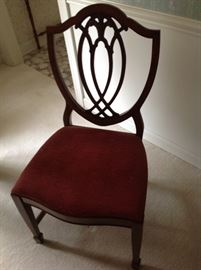 Shield Back Dining Chair - 6 included with dining table.
