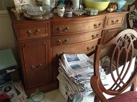 Antique Buffet $ 280.00