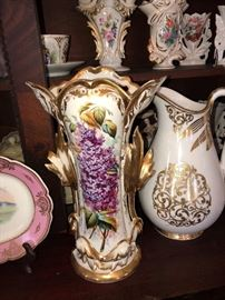 Ol Paris Porcelain   Over 100 pieces