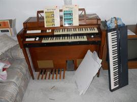 Organ and Keyboard