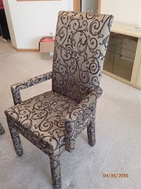 FABRIC SIDE CHAIRS & ARM CHAIRS