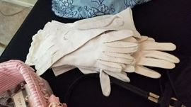 Ladies evening gloves