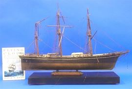 "Hand built Model of ""Flying Cloud"", 19th century Boston Clipper Ship"
