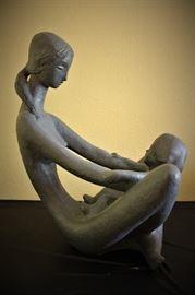 1976  Austin Productions Art Sculpture