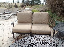 Like New - Hanamint -  patio set - Purchased 1 yr old from Great Escape