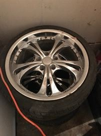 Tires with rims $50 each