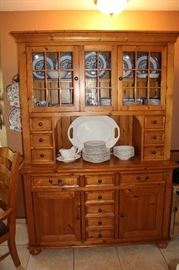 furniture pine hutch