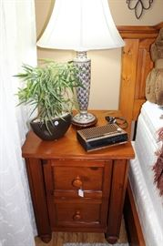 furniture pine side table night stand