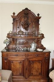 furniture hand carved buffet
